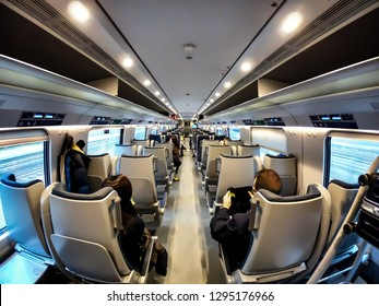 In the Train in Italy