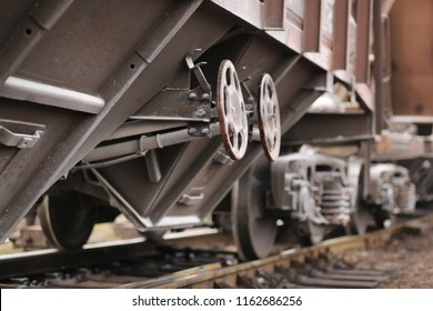 A train. Railway.