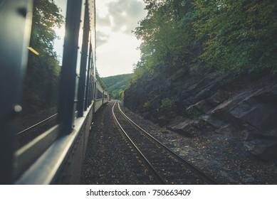 Train ride in Jim Thorpe PA