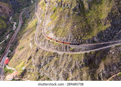 The Train Ride Through The Andes Mountains, The Most Difficult Railway In The World, Ecuador, South America