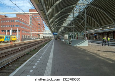 Train Station Of Amesfoort The Netherlands 2018