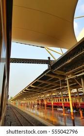 train station of bangkok