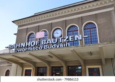 Train station of Bautzen, Germany