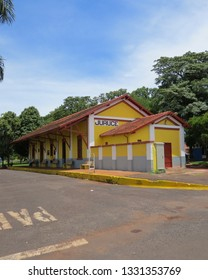 train station deactivated in the municipality of Juruce state of São Paulo photo taken on Monday, February 25, 2019