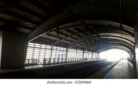 train station gate way