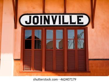 Train station, Joinville, Santa Catarina, Brazil