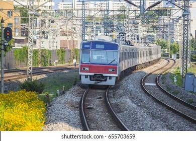 Train station in korea