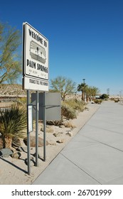 Train station; Palm Springs, California