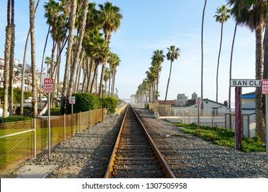 Train Station San Clemente Pier