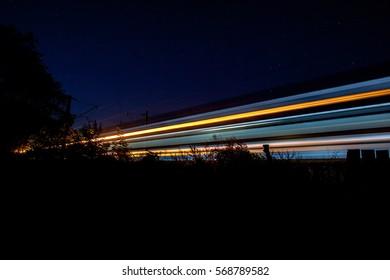 Train trails