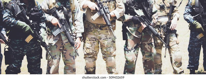 Thai Special Forces Images, Stock Photos & Vectors