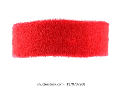 Training headband isolated on white