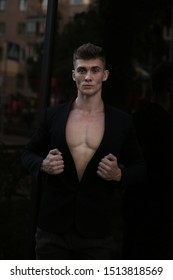 training, jacket, clothes, sexy, sexually, suit, body, chest, abs, torso, muscular, Guy. male, horizontal bars, Man. workout, lifestyle, health, bodybuilder, fitness model, sport, power,