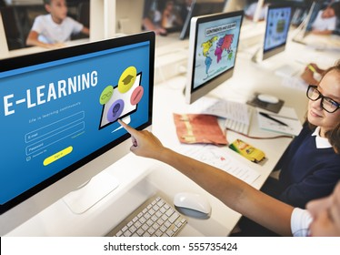 Training Study Knowledge E-learning Concept