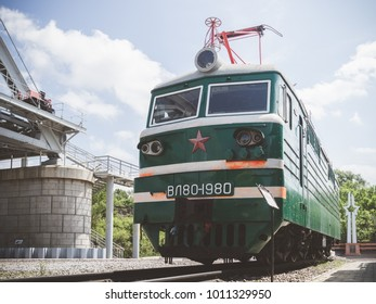 Trains at Khabarovsk