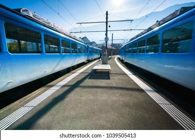 trains to mountain