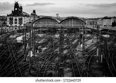 hlavní nádraží trainstation Czech Republic, Prague, 2014