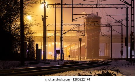 Trainstation in Loimaa, Finland