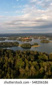 Trakai castle in Litaunia
