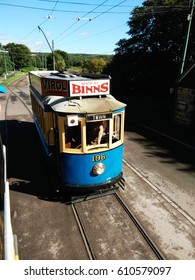 Tram at Beamish Museum Durham, England, taken on August 26th, 2016
