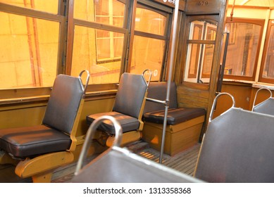 Tram No. 28 in Lisbon, Portugal, Europe