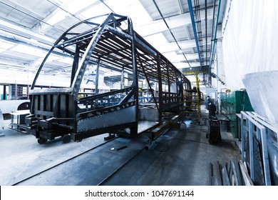 Bus Production Line Images, Stock Photos & Vectors