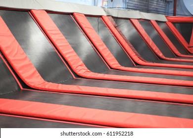 Trampoline empty
