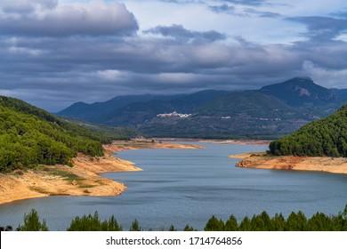 Tranco de Beas reservoir in Sierra de Cazorla Segura and Las Villas Natural Park, Jaen province, Andalusia, Spain, Europe