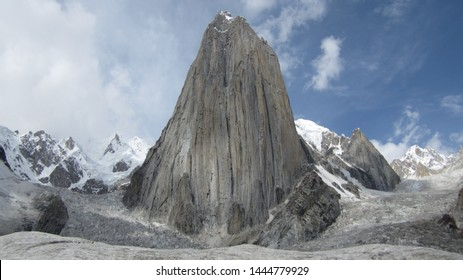 Trango Towers in Pakistan, family of rock towers situated in Gilgit-Baltistan, in the north of Pakistan