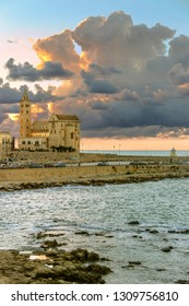 Trani cathedral (Apulia) -ITALY-It is a great example of Apulian Romanesque architectureI.