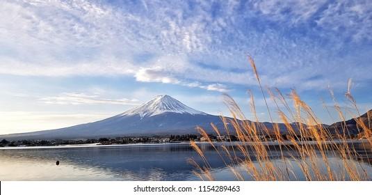 Tranquil mt. Fuji view