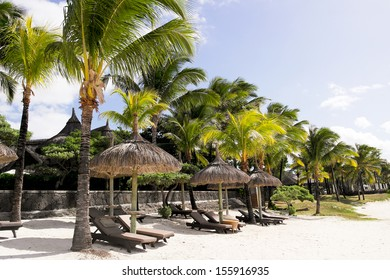 Tranquil tropical resort on Mauritius