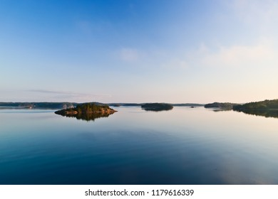 tranquility of baltic sea and islands, stockholm archipelago sweden