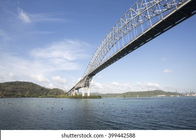 Trans American bridge in Panama connected South and North Americas