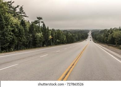 Trans Canada Highway new Brunswick Canada Nova Scotia