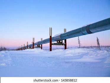 Trans-Alaska Pipeline, Sunrise