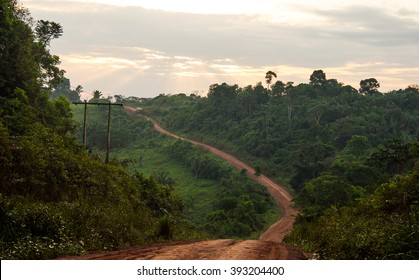 Trans-Amazonian Highway in Brazil