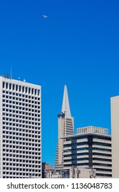 Transamerica Pyramid in San Francisco  downtown. California, USA