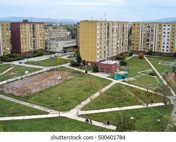 Transcarpathia, Ukraine - October 10, 2004: Uzhgorod - city in western Ukraine, the administrative center of the Transcarpathian region.