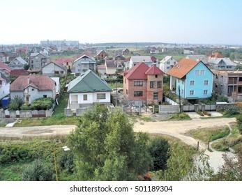 Transcarpathia, Ukraine - September 24, 2005: Uzhgorod - city in western Ukraine, the administrative center of the Transcarpathian region