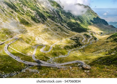 Transfagarasan highway - the most beautiful road in Europe, Romania (Transfagarashan)