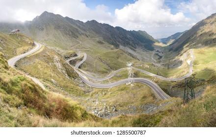 Transfagarasan Highway Pano