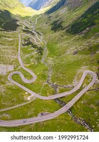 Transfagarasan Mountain Winding Road, Romanian Carpathians