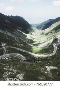 The Transfagarasan road