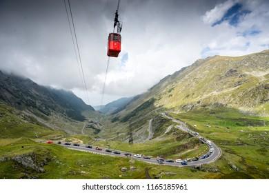 Transfagarasan Road in Romania Transilvanya fagaras mountain