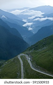 transfagarasean road ,romania