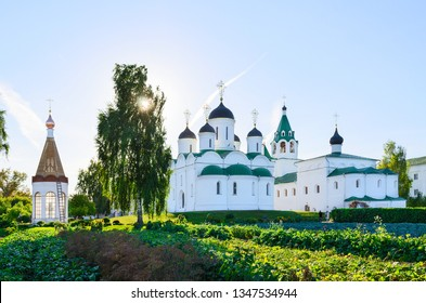 Transfiguration Cathedral, Church of Intercession and chapel-ossuary in Holy Transfiguration Monastery, Murom, Russia