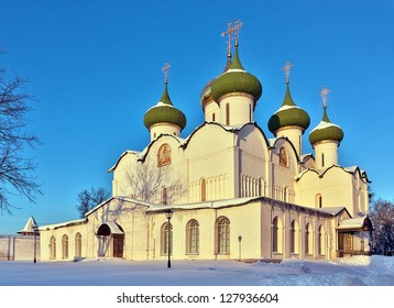 Transfiguration Cathedral in monastery of Saint Euthymius in Suzdal, Russia