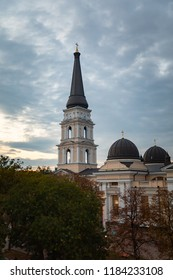 The Transfiguration Cathedral in Odessa is the Orthodox Cathedral in Odessa, Ukraine, dedicated to the Saviour's Transfiguration. The first and foremost church in the city of Odessa