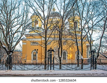 Transfiguration Cathedral. St. Petersburg. Russia